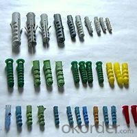 Nylon Hammer Drive Anchor with Countersunk Head Screws Factory Price