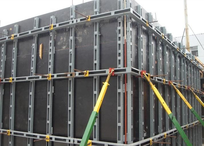 Black Film Faced Plywood / Concrete Formwork / Construction Material