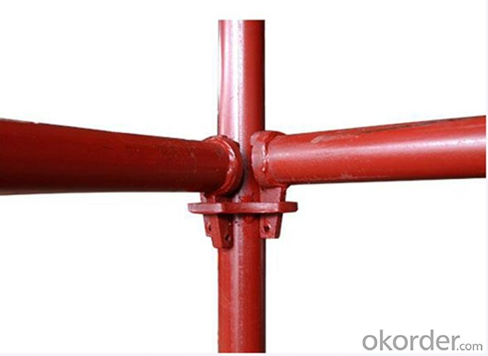 Ringlock Scaffolding System with the Finish of Painting