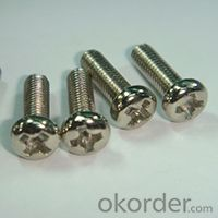 Round Head Machine Screws with High Quality and Customised Size
