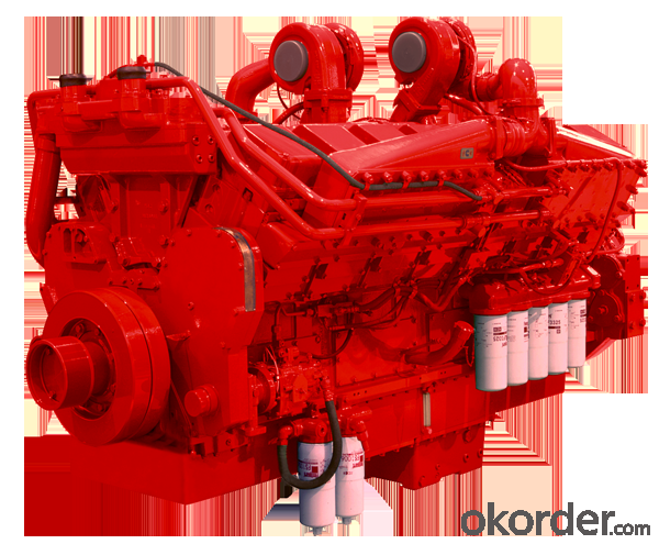 Low Fuel Consumption Cummins Power Diesel Generator Set Powered by Cummins KTA38-G2B