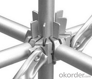 Hot Galvanized Ringlock Scaffolding System with Material of Q235