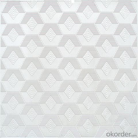 Gypsum Ceiling Board Tiles for Decoration Use
