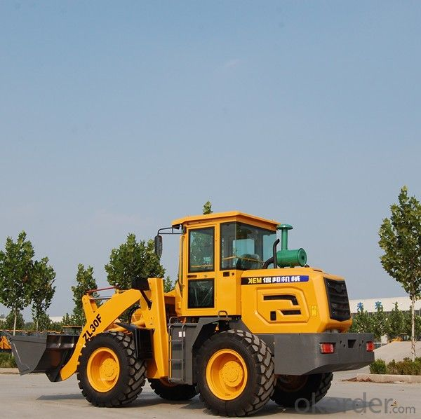 2015 new top quality 3 ton mini wheel loader