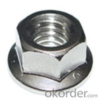 Flange Nuts Hexagon Nuts/First Class!! Hot Sale! High Quality! Flange Screws