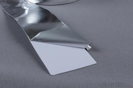 Aluminum Foil Tape Brown Color Heat Resistant