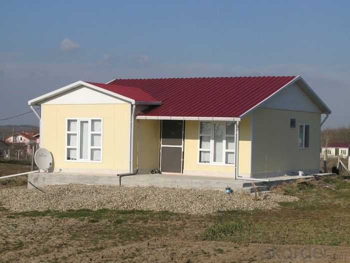 Modern Prefabricated Sandwich Panel House