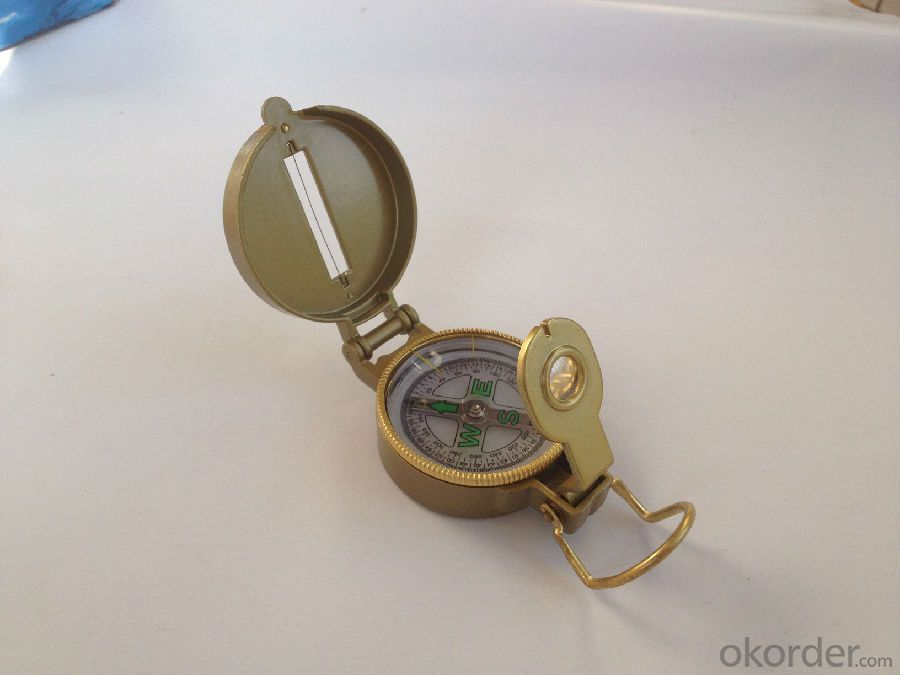 Rugged Army or Military Compass in Metal