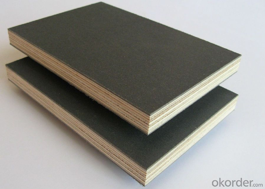 Film Faced Plywood Brown and Black Color