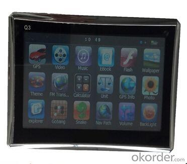 4.3 inch GPS Car Navigation MTK 4GB Capacity UK EU AU NZ Maps Speedcam POI