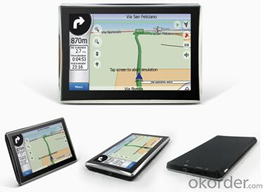 HD Car GPS navigation 7 inch Touch Screen Portable Use