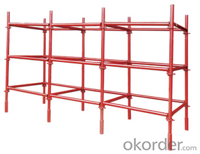 Galvanized Ringlock Scaffolding System for High-rise Buildings