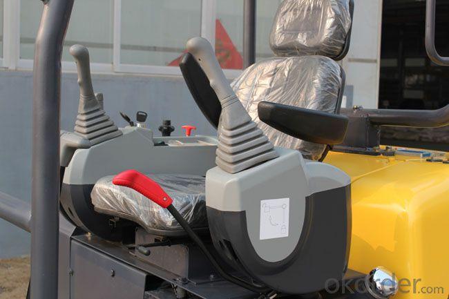 2.2 ton mini mechanical hydraulic excavator track crawler