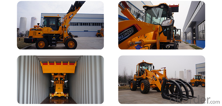 mini wheel loader/Haihong CTX918 wheel loader