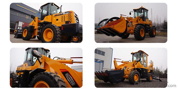 construction machine Haihong CTX918 wheel loader, cheap wheel loader