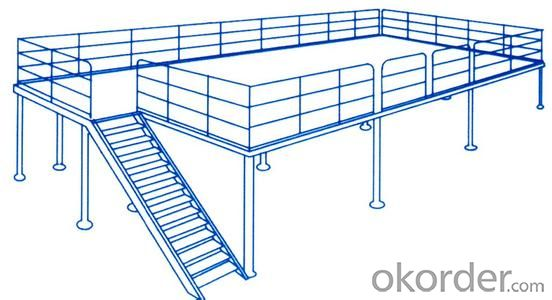 Steel Platform for Warehosue with Good Quality