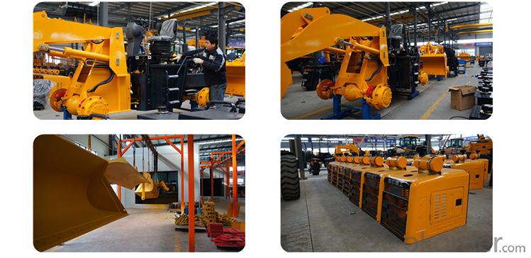 construction machine Haihong CTX926 wheel loader, cheap wheel loader