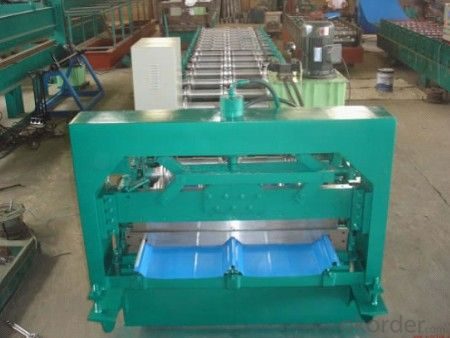 Steel Roofing Sheet Cold Roll Forming Machines