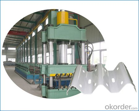 Guardrail Profiles Cold Roll Forming Machines