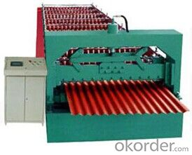 Metal Tile Profile Cold Roll Forming Machines