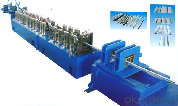 Steel Keels Shape Cold Roll Forming Machines
