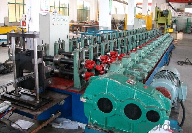 Pallet Rack Cold Roll Forming Machines