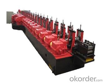 C Profiles Steel Cold Roll Forming Machines