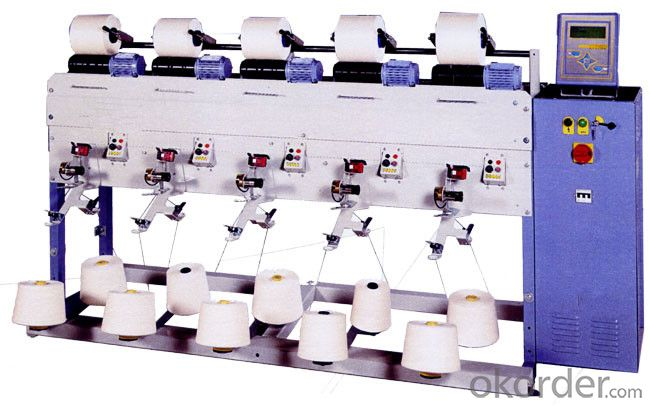 Soft Cone Bobbin Winding Machine for Yarn