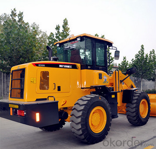 Wheel Loader with 92KW Engine Chinese top brand