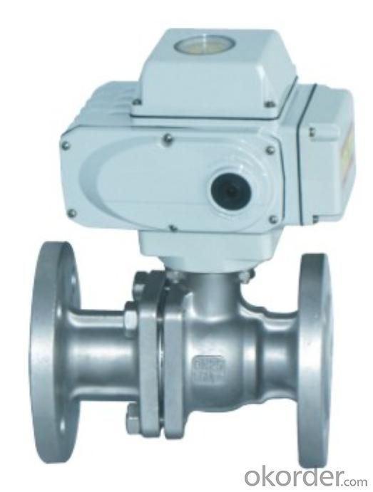 Electrical Actuator - 3 Way Ball Valve with low price