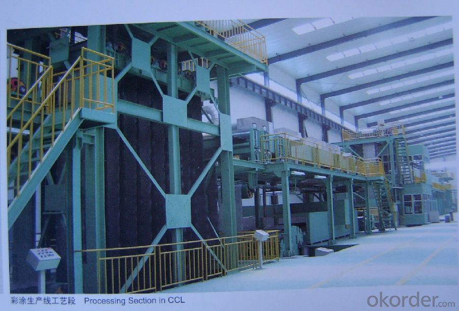 Coated  Steel coil/Roofing Application/AL-Zn PPGI