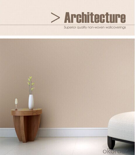 Non-woven Wallpaper Good Design for Interior Decoration