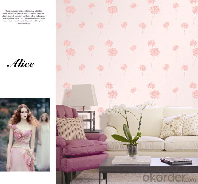 Non-woven Wallpaper Personalized Customer Required Wallpaper