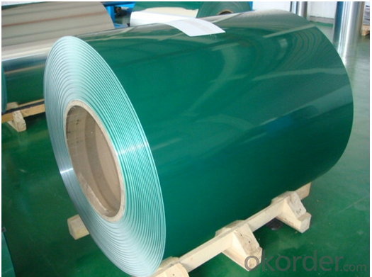 Galvanized or Alu-zinc Steel PPGI/Color coated steel plate/Cold Rolled/PE