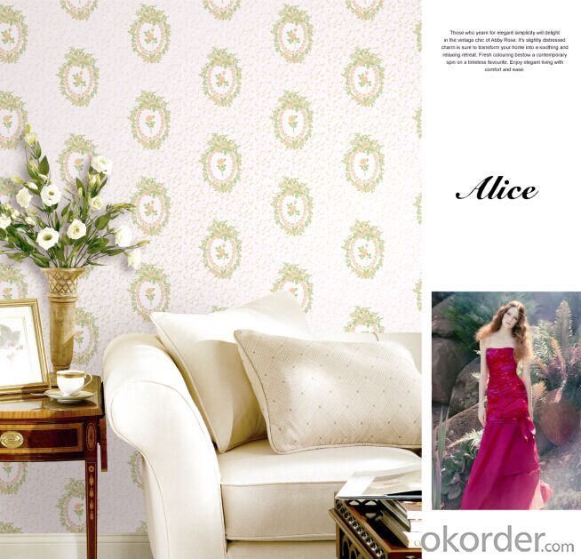 Non-woven Wallpaper Modern Simple Elegant Design Foaming Technology Wallpaper