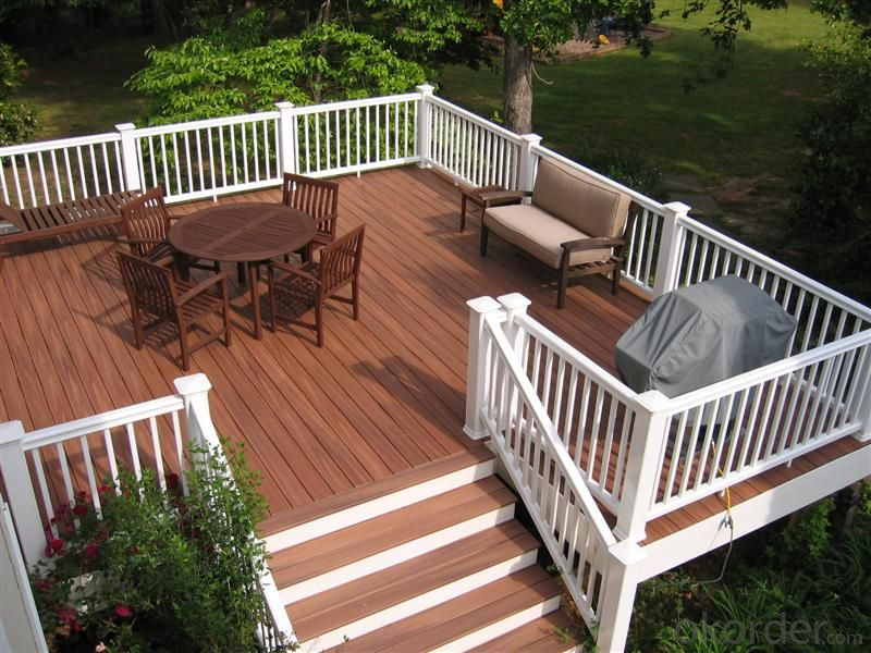 Composite Lumber/China WPC indoor and outdoor deck floor covering
