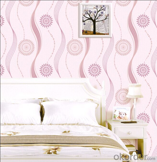 Non-woven Wallpaper 2015 Hotest Modern Design Wallpaper
