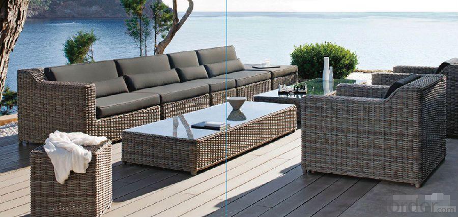 Hot Sale Rattan Sofa Set Patio Wicker Outdoor Hotel Furniture