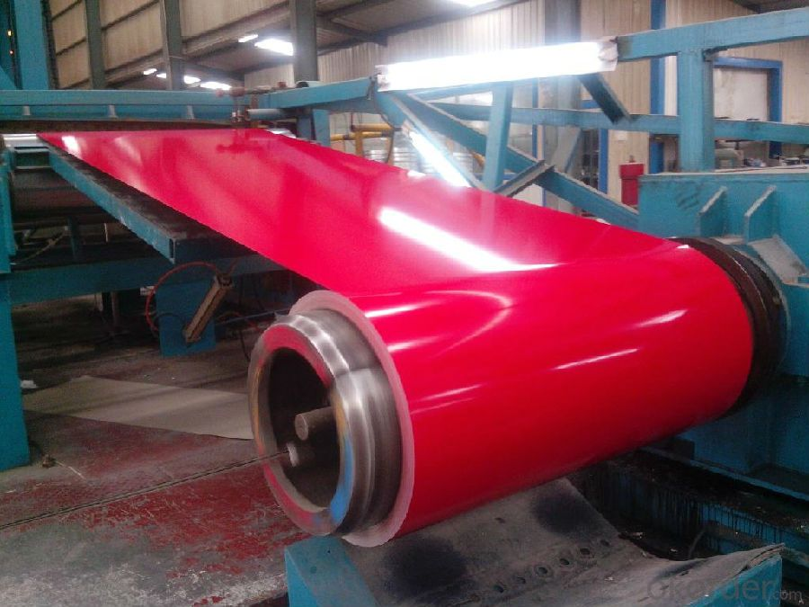 Prepainted Z80 Rolled Steel Coil for Sandwich Panel