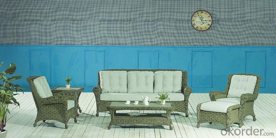 Garden Sofa PE Rattan with Aluminum Frame  CMAX-YT014