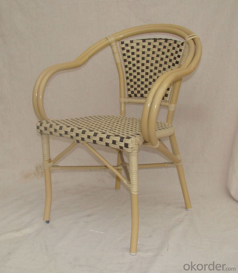 Patio Wicker Single Chair Outdoor Rattan Single Furniture