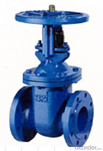 Gate Valve BS Resilient Seated gate valve, PN16 Rising Stem