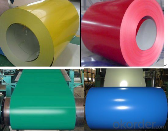 china maufacturer color coated aluzinc steel coil for constuction