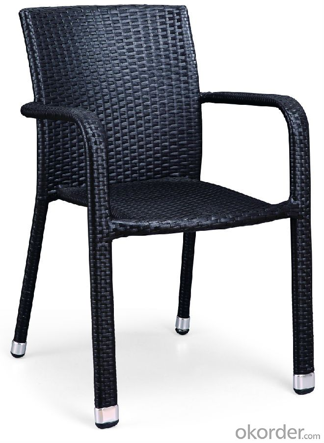 Outdoor Rattan Single Table with Chair for Garden CMAX-SC012