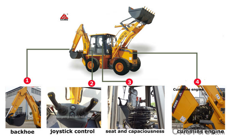 WZ30-25 Backhoe Loader, Backhoe Shovel, Shovel Backhoe, Loader and Backhoe