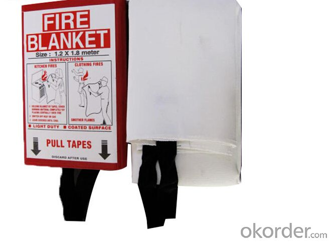 Kitemarked Fire Blanket with Red Package