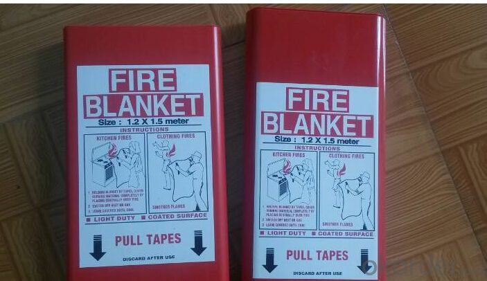 Fire Blanket 100% Fiberglass/Silicone coated