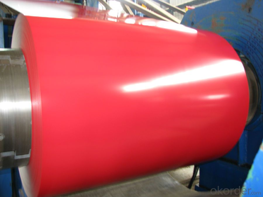 Crystal Red Highlights PPGI/Pre-painted Hot Dipped Galvanized Steel Coil /Sheet/Aluminized plate
