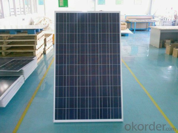 250w poly photovoltaic solar penal with CE/TUV/IEC certificate price per watt