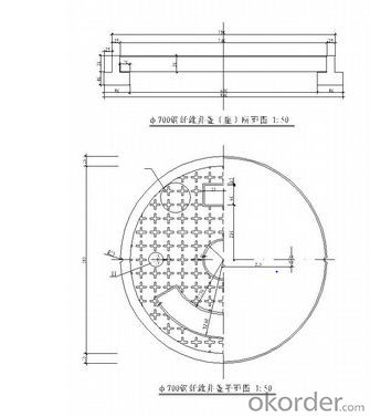 Manhole Cover  High Quality Made in China on Sale